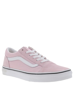 Baskets basses cuir OLD SKOOL fille