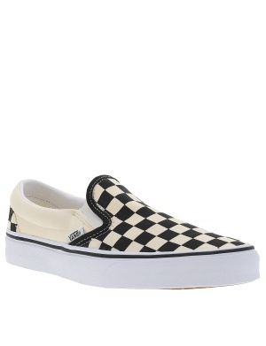 Baskets basses CHECKERBOARD CLASSIC SLIP-ON mixte