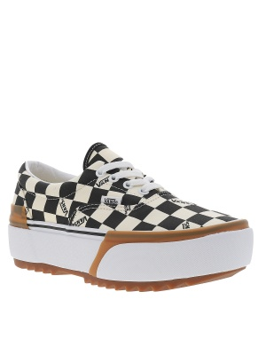 Baskets basses CHECKERBOARD ERA STACKED femme