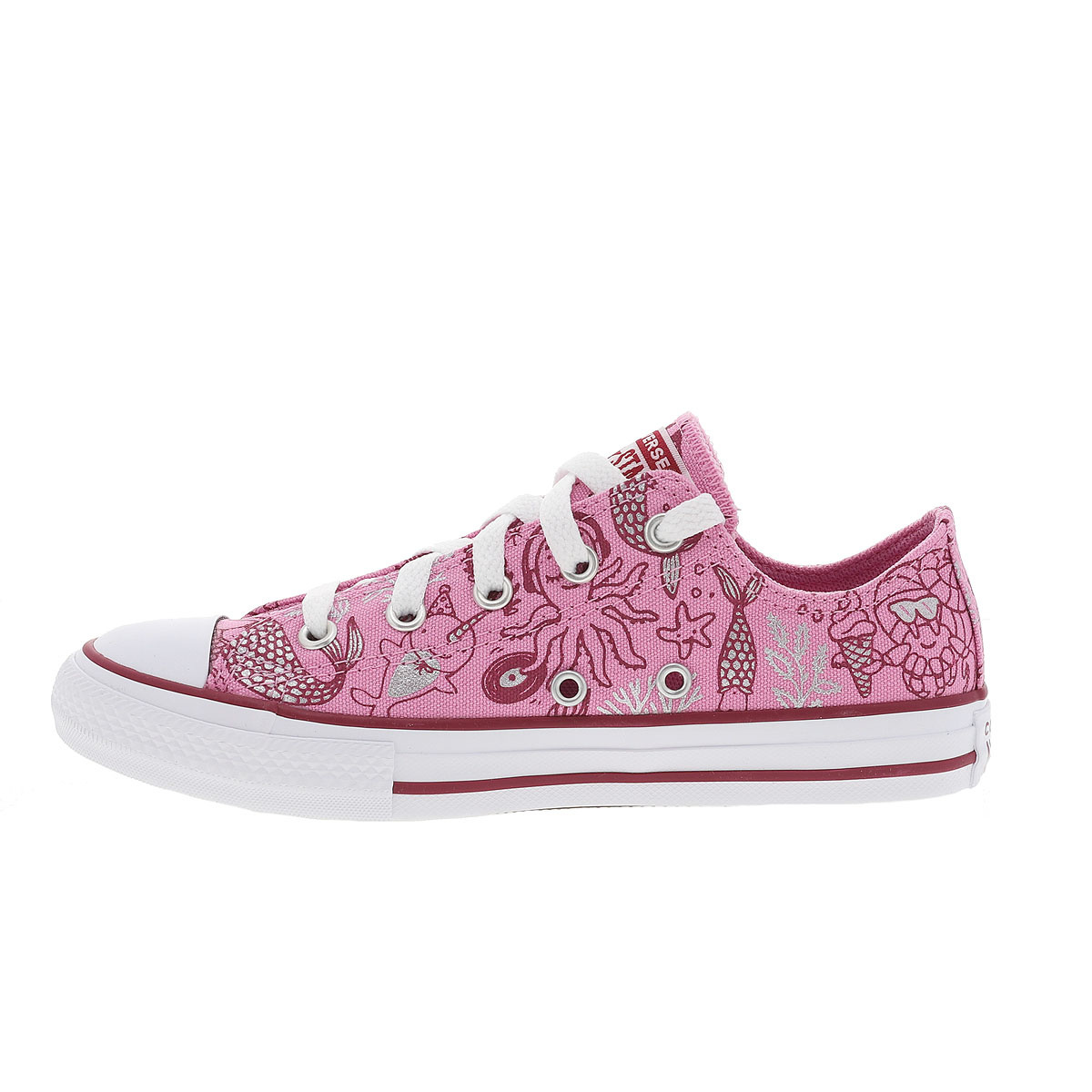 CONVERSE Baskets basses CHUCK TAILOR OX fille