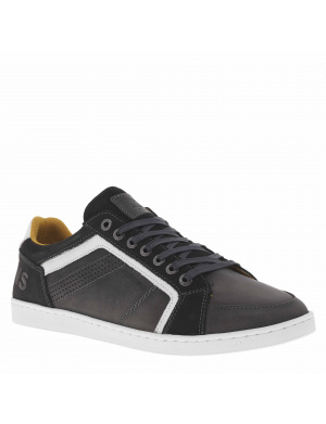 Baskets basses cuir homme ORMANO