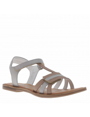 Sandales cuir fille DIAMONTO