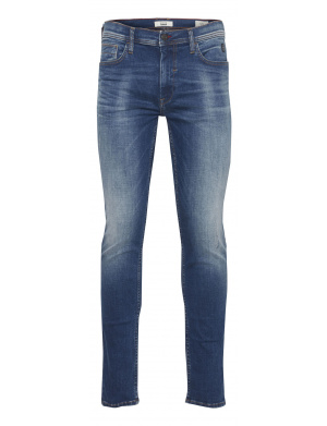 Jean homme coupe skinny bleu