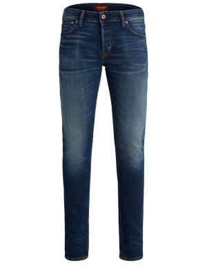 Jean homme coupe slim stretch bleu