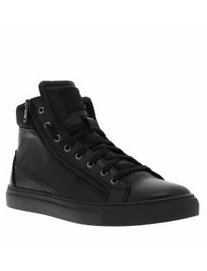 Baskets montantes homme NERINO cuir noir