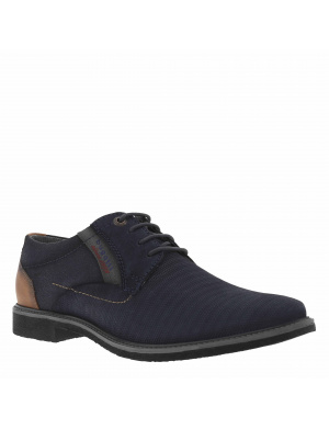 Derbies homme cuir marine