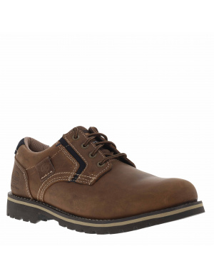 Derbies homme cuir brun