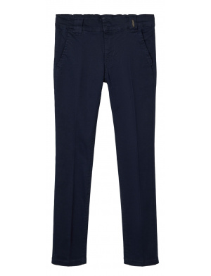 Pantalon garçon regular marine