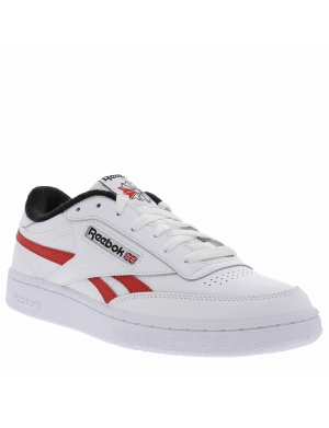 Baskets basses homme CLUB C REVENGE cuir blanc