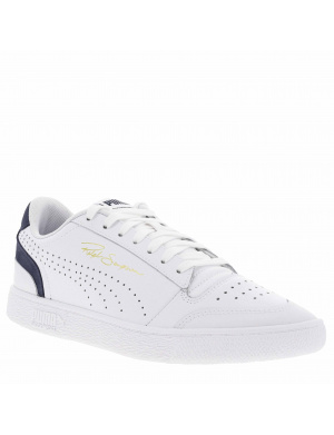Baskets basses homme RALPH SAMPSON LOW cuir blanc