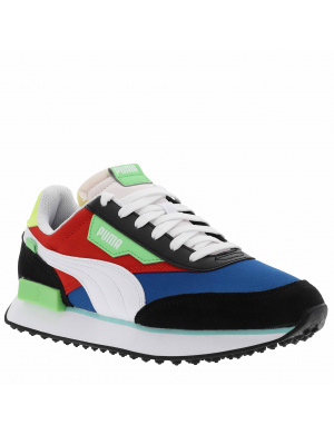 Baskets basses homme FUTURE RIDER multicolore