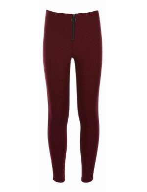 Legging fille THE JEG BOUCLE BLOOD rouge