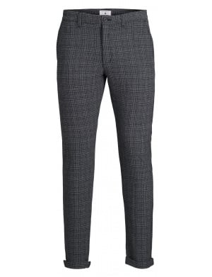 Pantalon homme coupe slim anthracite