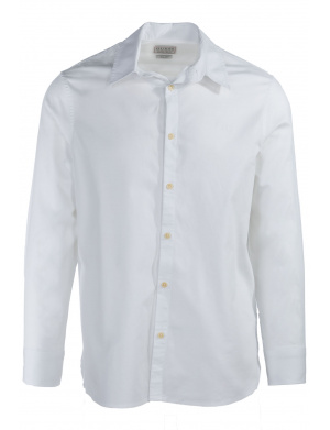 Chemise homme LS SUNSET SHIRT coupe droite blanc