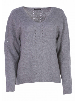 Pull femme CANDY gris
