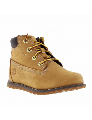 Boots PONEY PINE garçon marron