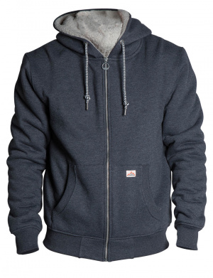 Cardigan homme CHILLING coupe droite anthracite
