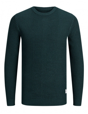Pull homme coupe droite sapin