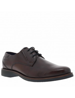 Derbies homme cuir  marron