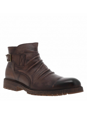Boots homme BOUNDS cuir  chocolat
