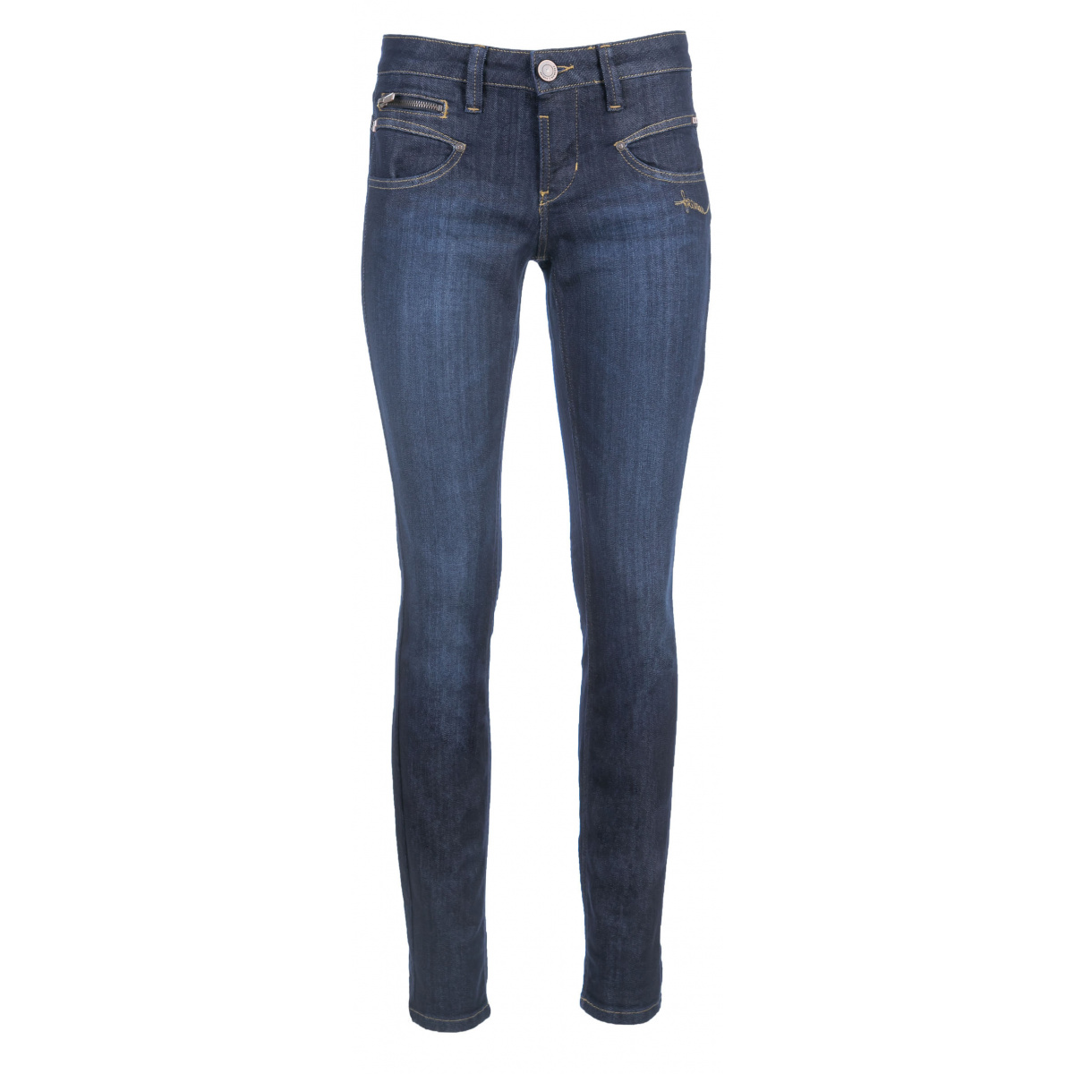 Jean femme ALEXA slim fit regular uni  brut FREEMAN T. PORTER
