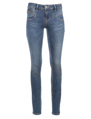 Jean femme ALEXA slim fit regular indigo used  indigo