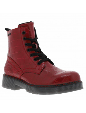 Boots fille    rouge