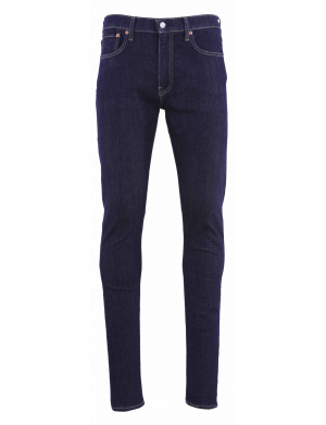 Jean homme skinny taper coutures tabacs  brut