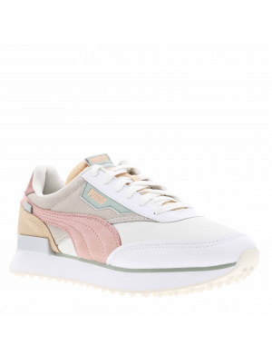 Baskets basses femme FUTURE RIDER SOFT METAL   beige/rose/vert