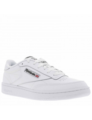 Baskets basses mixte CLUB C 85 cuir blanc
