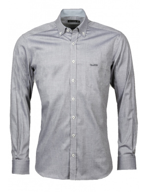 Chemise  homme droite   anthracite
