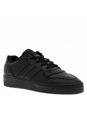 Baskets basses homme RIVALRY cuir  noir