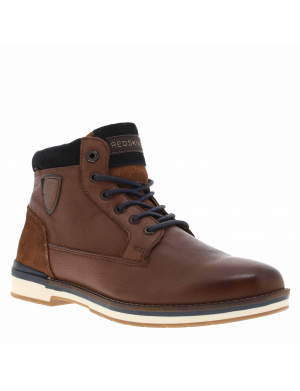 Boots homme ACCRO cuir  brandy