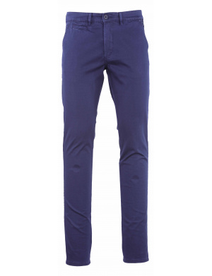 Pantalon homme adjusted stretch   marine