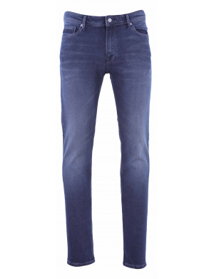 Jean homme REEPLE ROCK slim fit used   gris