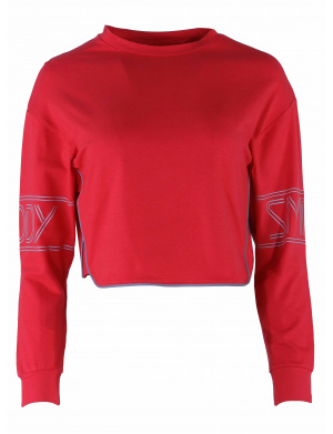 Crop Top fille    rouge