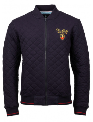 Cardigan homme coupe droite marine