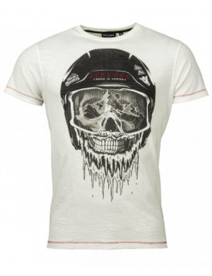 T-shirt homme LORDY coupe droite blanc