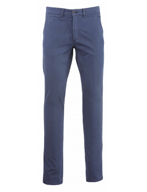 Pantalon  homme  adjusted-fit stretch en coton indigo