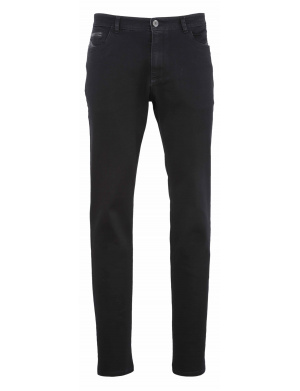 Pantalon homme  regular-fit jeans super stretch  noir