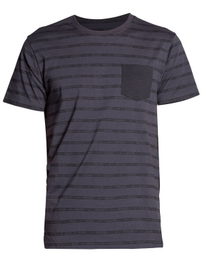 T-shirt homme CLOSED coupe droite anthracite