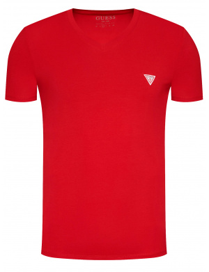 T-shirt homme VN SS CORE TEE coupe droite rouge