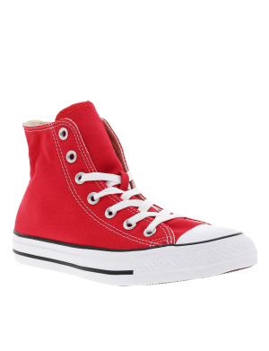 Baskets montantes femme CHUCK TAYLOR ALL STAR HI rouge