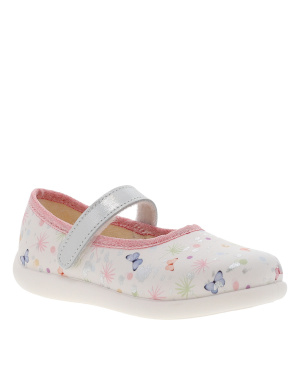 Chaussons fille blanc
