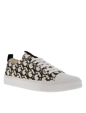 Baskets basses femme EDERLA LOW CUT ecru