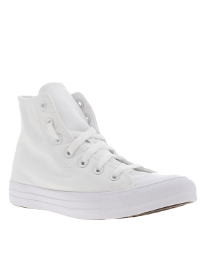 Baskets montantes femme CHUCK TAYLOR ALL STAR HI blanc