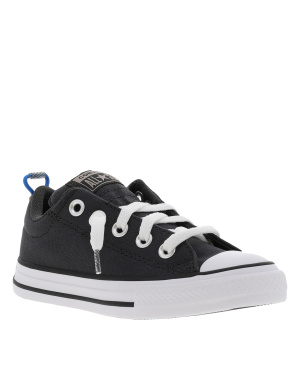 Baskets basses mixte enfants CHUCK TAYLOR ALL STAR STREET SLIP anthracite