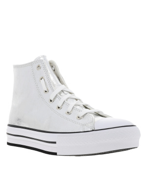 Baskets basses fille CHUCK TAYLOR ALL STAR EVA LIFT argent