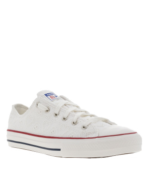 Baskets basses fille CHUCK TAYLOR ALL STAR blanc