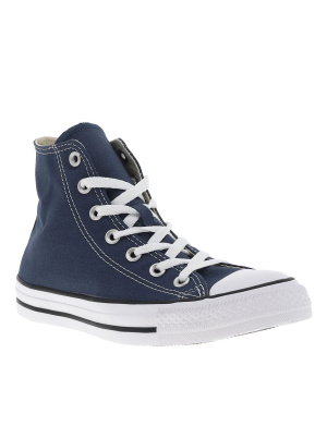 Baskets montantes homme CHUCK TAYLOR ALL STAR HI marine